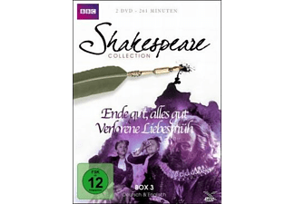 SHAKESPEARE COLLECTION 3.BOX - (DVD)
