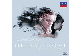 Daniel Barenboim, Staatskapelle Berlin - Beethoven For All - The Piano Concertos [CD]