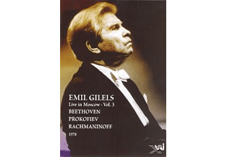 Emil Gillels, Emil Gilels - Live In Moscow Vol.3 (1978) - (DVD)