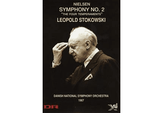 Leopold Stokowski So National Danish - Nielsen, Carl August - Sinfonie 2 Op.16 - (DVD)