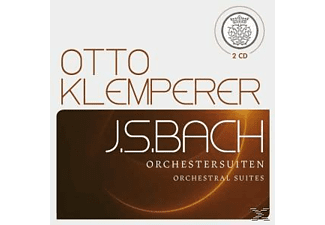 Otto Klemperer (leitung) 1 Philharmonia Orchestra, Otto Klemperer - Bach: Orchestersuiten/Orchestral Suites - (CD)