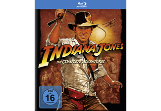 Indiana Jones - The Complete Adventures Abenteuer Blu-ray