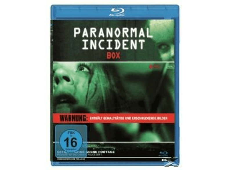 Paranormal Incident 1,2,3 [Blu-ray]