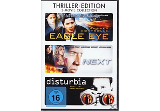 Disturbia / Eagle Eye / Next DVD-Box - (DVD)