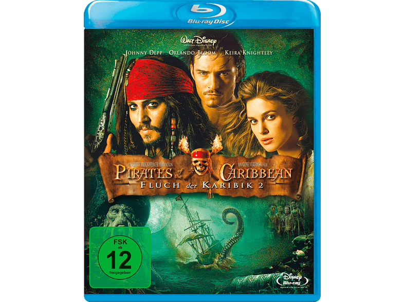 Pirates Of The Caribbean - Fluch der Karibik 2 - Dead Man's Chest [Blu-ray]