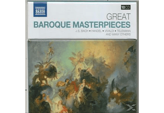Budapest Strings, Cologne Chamber Orchestra, Capella Istropolitana, Northern Sinfonia, Handel Festival Chamber Orchestra, Failoni Chamber Orchestra, City Of London Sinfonia, Nicolaus Esterhazy Sinfonia, Ensemble Arcadia - Große Barock Meisterwerke - (CD)