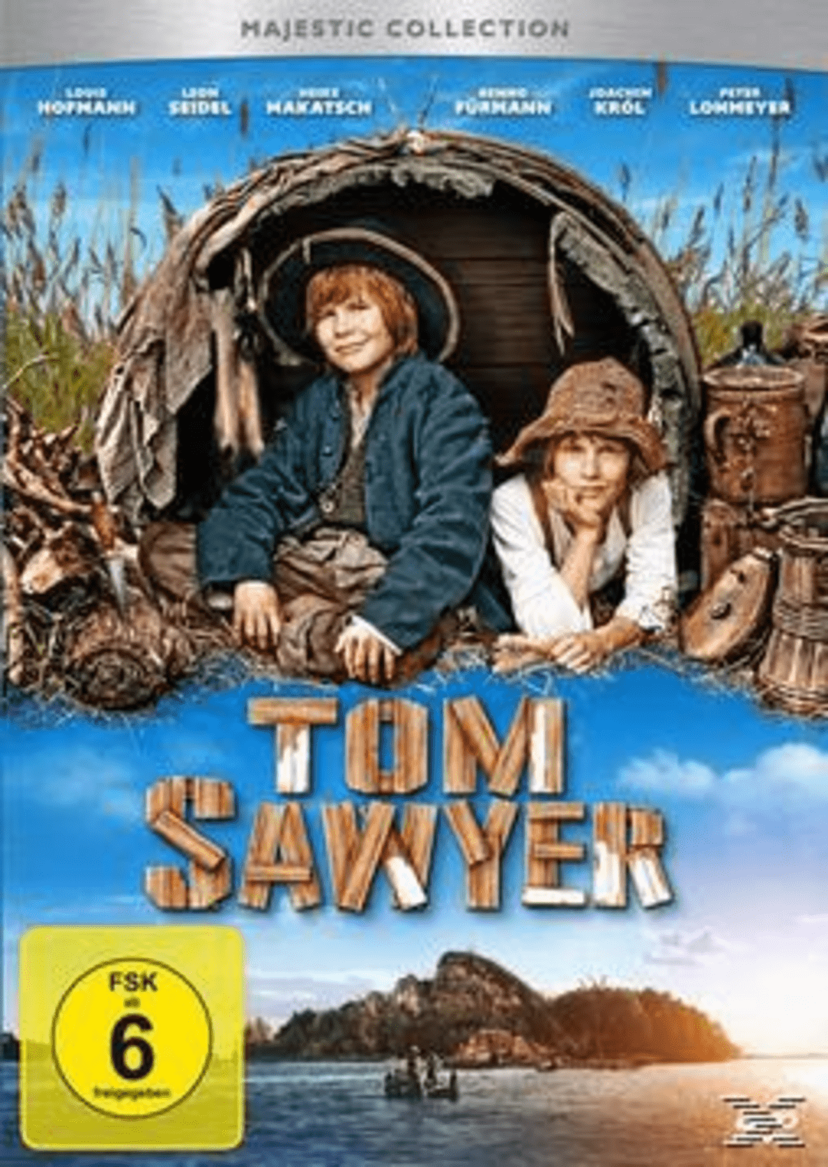 Tom Sawyer auf DVD
