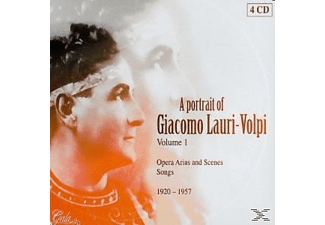 VARIOUS - A Portrait Of Giacomo Lauri-volpi V.i-(box-set) - (CD)