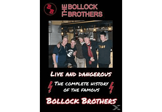 The Bollock Brothers - Live And Dangerous - (DVD)