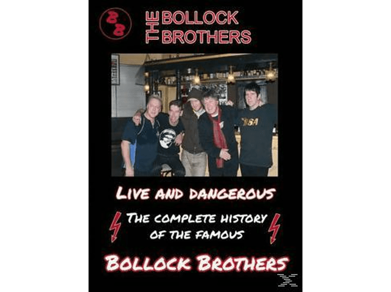 The Bollock Brothers - Live And Dangerous [DVD]