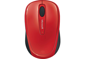 MICROSOFT Wireless Mobile Mouse 3500 Flame Red Gloss