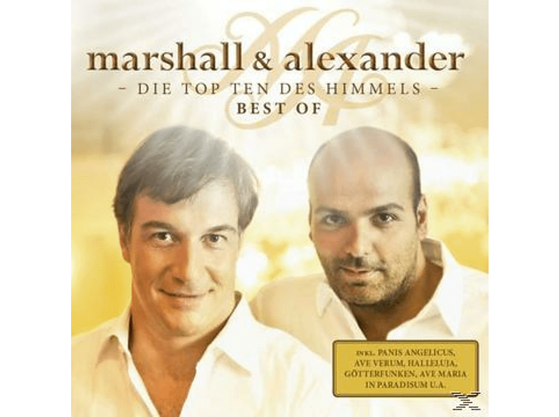 Marshall & Alexander - GÖTTERFUNKEN - DIE TOP TEN DES HIMMELS 2 [CD]
