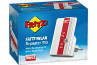 AVM FRITZ!WLAN Repeater 310 WLAN-Repeater, Weiß/Rot