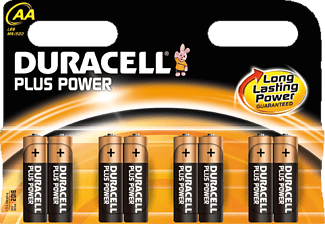 DURACELL Plus Power AA-batterijen