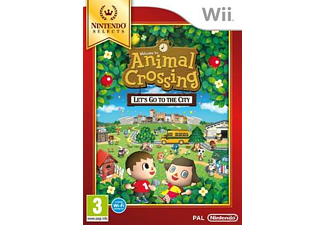 Selects - Animal Crossing: Let's Go To The City Nintendo Wii