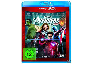 Marvel's The Avengers (+2D) Science Fiction Blu-ray