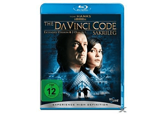 The Da Vinci Code - Sakrileg (Extended Version) Mystery Blu-ray