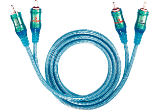 OEHLBACH Ice Blue 100 NF Audio-Cinchkabel 1m Stereo-Audiokabel Blau