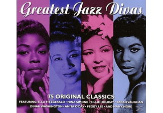 VARIOUS - Great Jazz Divas - (CD)