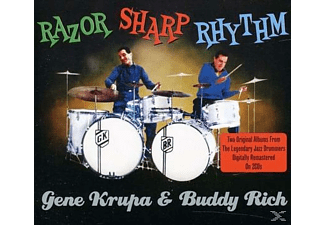 Gene Krupa, Buddy Krupa - Razor Sharp Rhythm - (CD)