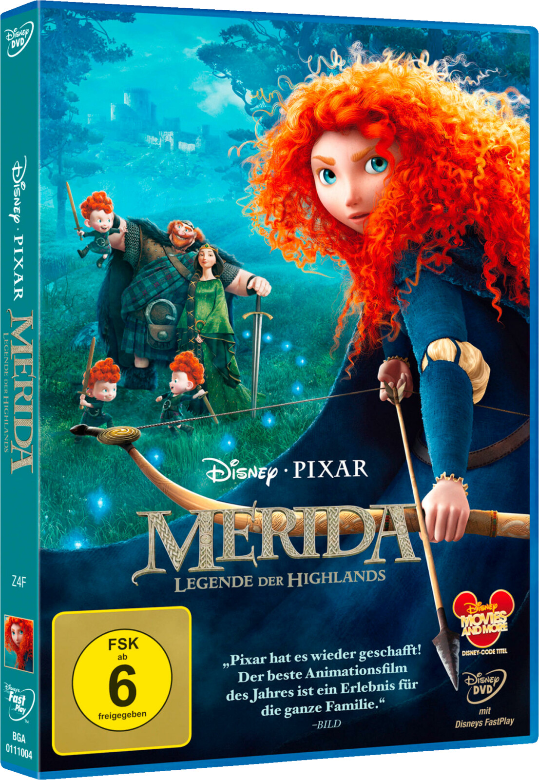 Merida Legende Der Highlands Dvd Ebay