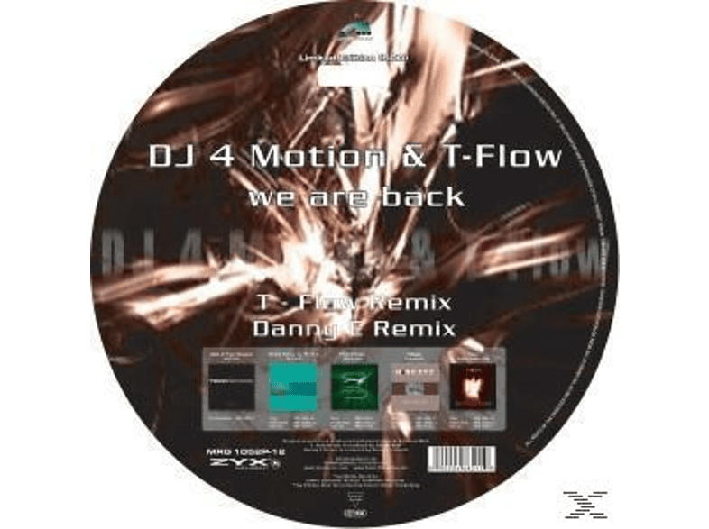 T-flow, Dj 4 Motion & T-flow - We Are Back [Vinyl]