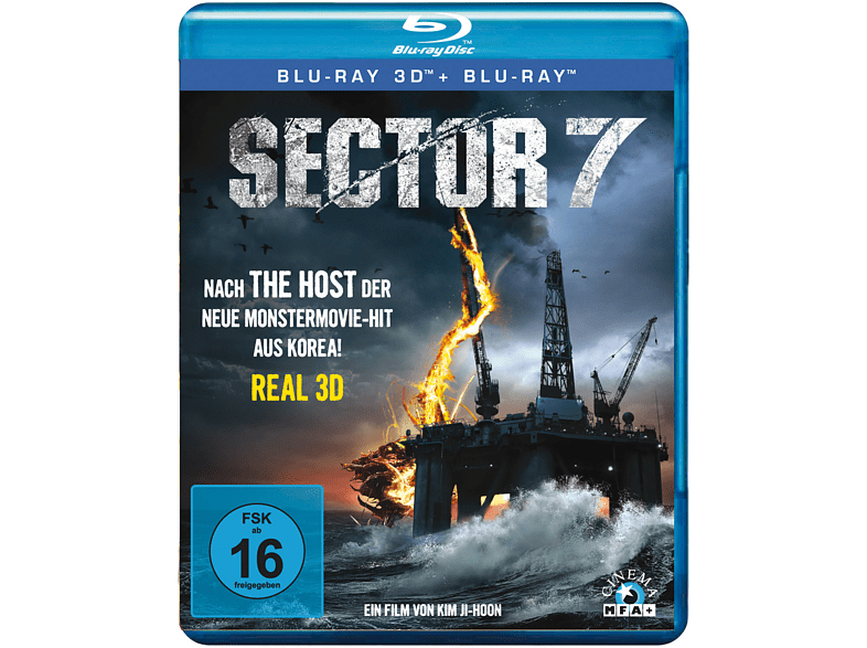 Sector 7 3D [3D Blu-ray]