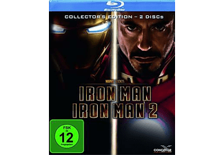 Iron Man 1+2 (Collector's Edition) Action Blu-ray