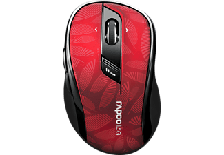 RAPOO 7100P - Wireless Optical Maus, rot