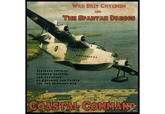 Billy Childish, Wild Billy & The Spartan Dreggs Childish - Coastal Command - (Vinyl)