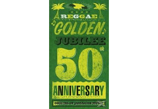 VARIOUS - Reggae Golden Jubilee (4cd Media Book) [CD]