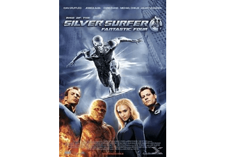 Fantastic Four 2 Rise of the Silver Surfer Action DVD