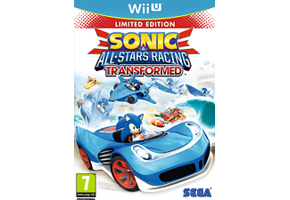 Wii U Sonic and All Stars Racing Transformed