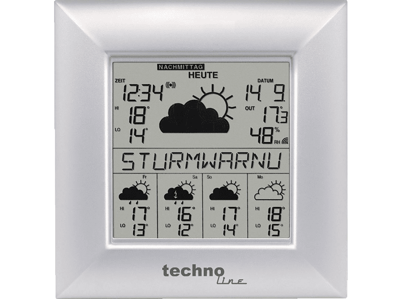 TECHNOLINE WD 9000 Wetterstation
