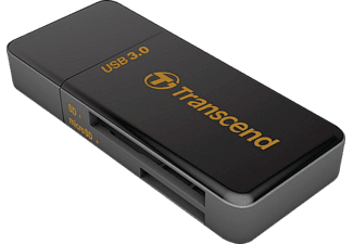 TRANSCEND F5 MULTI CARDREADER USB3 BLACK  Schwarz