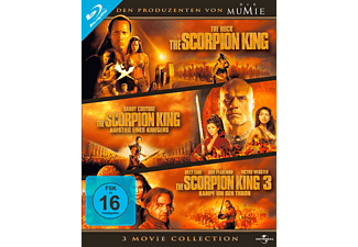 The Scorpion King - 3 Movie Collection - (Blu-ray)