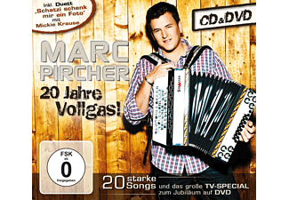 Marc Pircher 20 Jahre Vollgas! Schlager CD + DVD Video