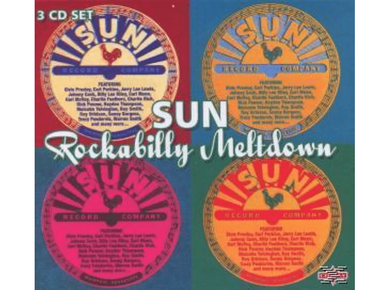 VARIOUS - Sun Rockabilly Meltdown [CD]