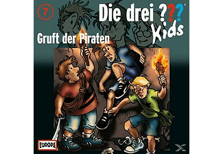 SONY MUSIC ENTERTAINMENT (GER) Die Drei ??? Kids 07: Gruft der Piraten