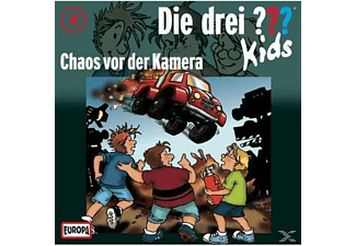 SONY MUSIC ENTERTAINMENT (GER) Die Drei ??? Kids 04: Chaos vor der Kamera