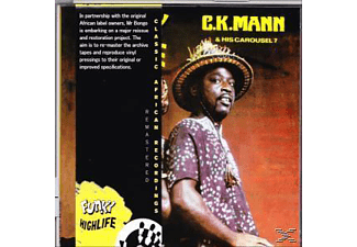 C.K.Mann, Carousel 7 - Funky Highlife - (CD)