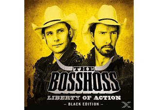 The Bosshoss LIBERTY OF ACTION (BLACK EDITION) Rock CD