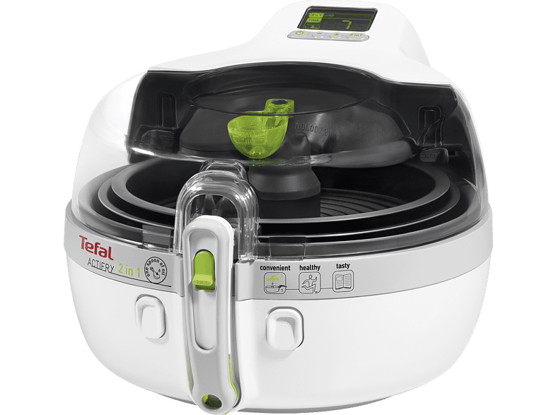 TEFAL  YV 9600 Friteuse, weiß, silber | 03045386352159