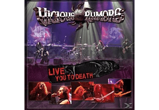 Vicious Rumors - Live You To Death - (CD)