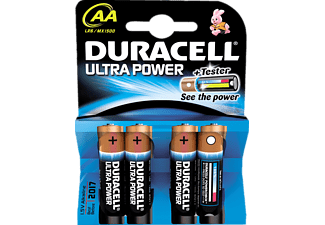 DURACELL Ultra Power AA 4-pack - Batterier
