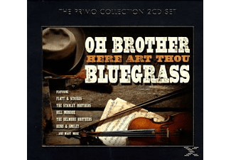 VARIOUS - Oh Brother-Here Art Thou Bluegrass - (CD)