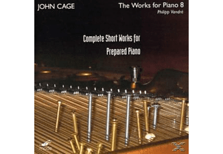 Philipp Vandre - Cpte Short Works For Prepared Piano - (CD)