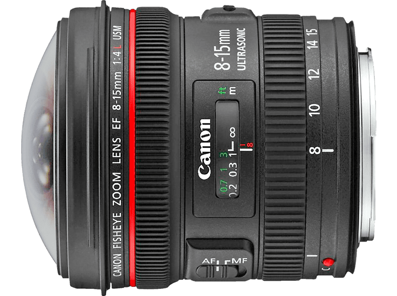 CANON EF 8-15mm f/4L Fisheye USM , 8 mm - 15 mm