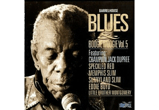 VARIOUS, Various (Ft.Champion Jack Dupree A.O.) - Barrelhouse Blues & Boogie Woogie 5 - (CD)