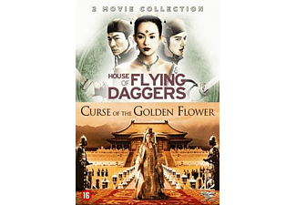 CURSE OF GOLDEN FLOWER + HOUSE OF FLYING DAGGERS | DVD